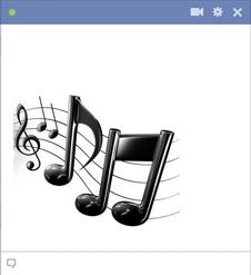 Emoticone Musique Et Symboles Facebook Emoticon Smiley